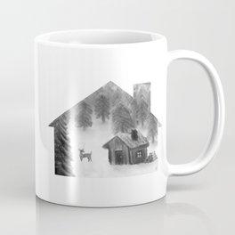 Comfort My Soul B&W Coffee Mug