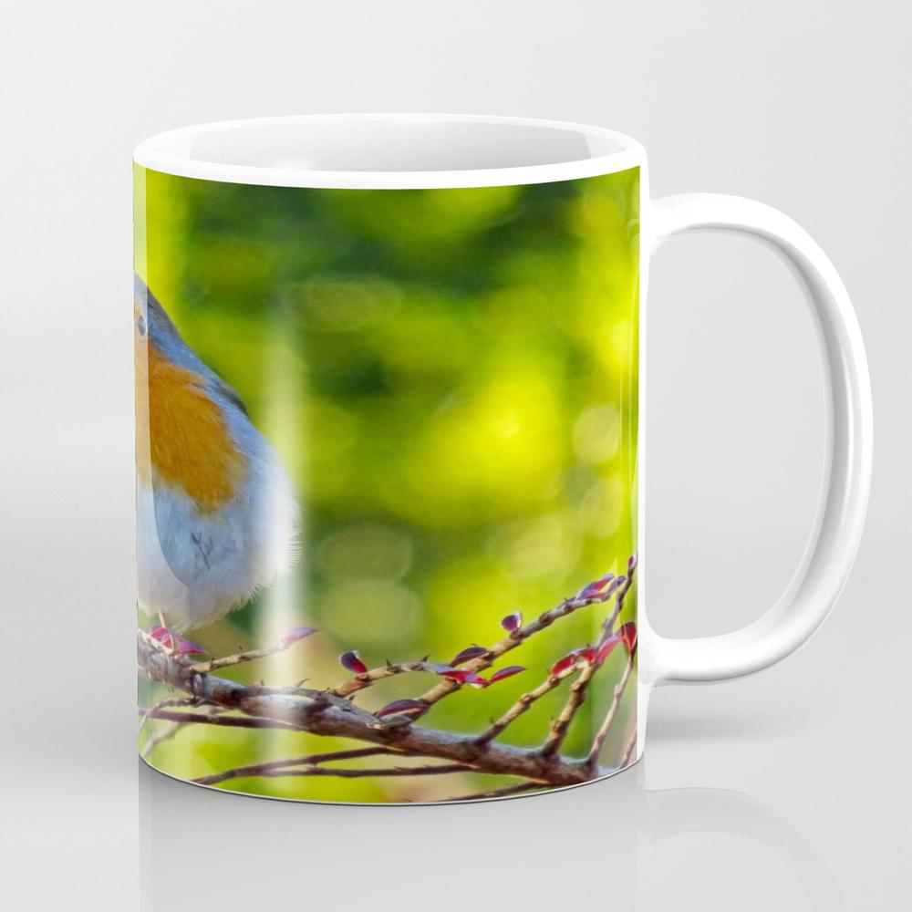 Robin Redbreast Mug by Catherineogden (MUG8331014) photo
