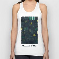 audi Tank Tops featuring AFK by Hector Mansilla