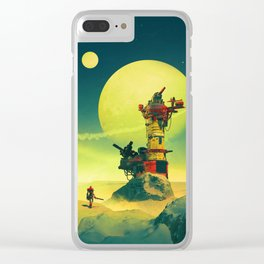 WATCHTOWER21 Clear iPhone Case