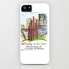 ARTivity on the Green iPhone Case