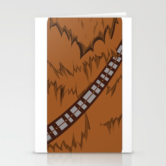 Chewbacca iPhone Case Stationery Cards