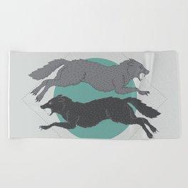Sons of Fenrir Beach Towel