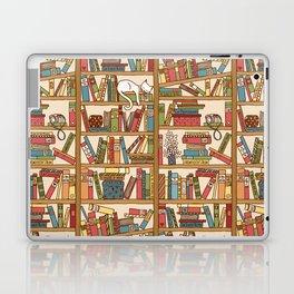 Bookshelf No. 1 Laptop & iPad Skin