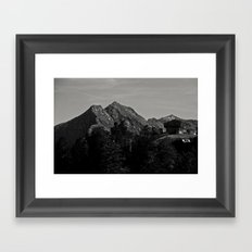 Wanna live there ? Framed Art Print