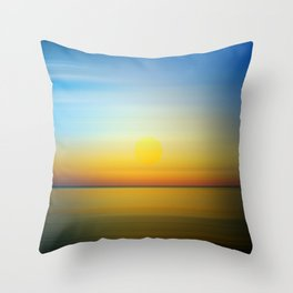 Abstract Landscape 28 Throw Pillow