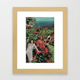 Bella Hadid Framed Art Print