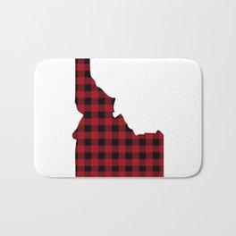 Idaho - Buffalo Plaid Bath Mat