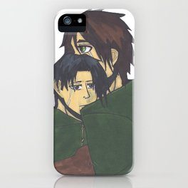 Eren x Levi iPhone Case