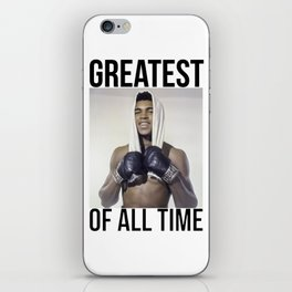 "Muhammad ""Greatest of All Time"" Ali iPhone Skin"