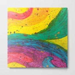 Rainbow Abstract #6 Metal Print