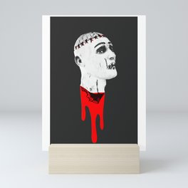Severed Head - Feeling Ghoulish Dripping Blood Mini Art Print