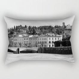 Over the Arno Rectangular Pillow