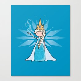 The Ice Queen Canvas Print