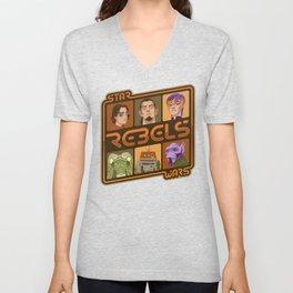 Rebel 4: Ezra Bridger Unisex V-Neck