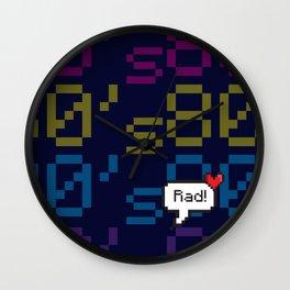 Rad!  Wall Clock