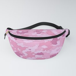 Camouflage Pink Fanny Pack