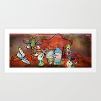 Thermonuclear warriors. Art Print