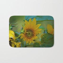 Sunflower Solar System Bath Mat