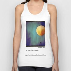 Tethered Moon Unisex Tank Top