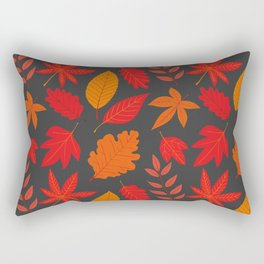 Red autumn leaves Rectangular Pillow