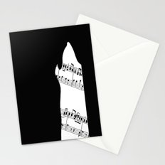 The Wolf Howls Stationery Cards