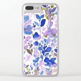 Flirt Wild & Free Clear iPhone Case