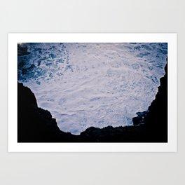 In A Hole Art Print