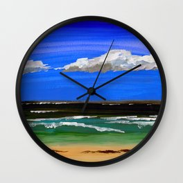 Pacific ocean Wall Clock