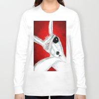 kangaroo Long Sleeve T-shirts featuring Kangaroo by Soso Creation