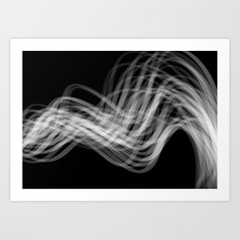 Linear Flow2 Art Print
