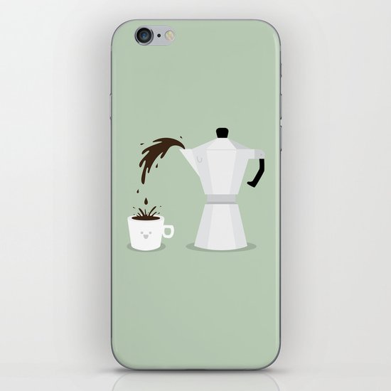 Espresso Time! iPhone & iPod Skin