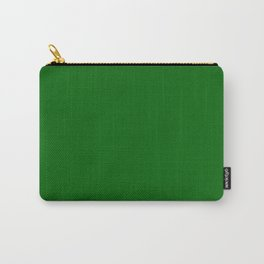 Emerald Green - solid color Carry-All Pouch