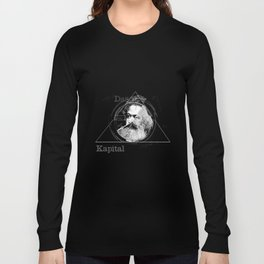 The Time of Marx Dark Long Sleeve T-shirt