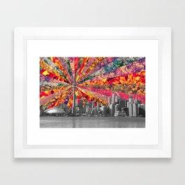 Blooming Toronto Framed Art Print