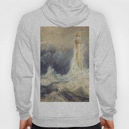 william turner Bell Rock Lighthouse - 1819 Hoody