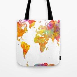 world map 23 Tote Bag