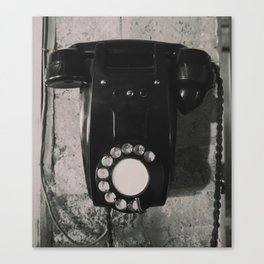 Rotary Telephone Canvas Print