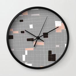 Square abstract Wall Clock