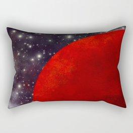 Mars In The Stars Rectangular Pillow
