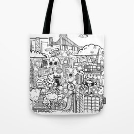 Travel with Pen,so? Tote Bag