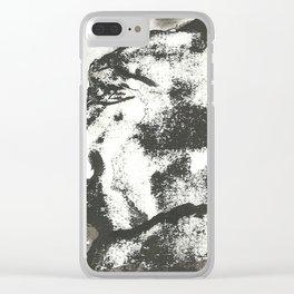 Mounstruo 2 Clear iPhone Case