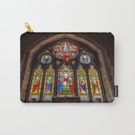 Ancient Stained Glass Carry-All Pouch