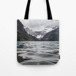 Lake Louise Mountain View Tote Bag