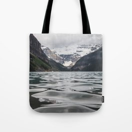 Lake Louise Mountain View Tote Bag