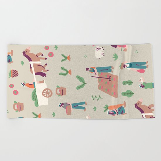 The Farm Beach Towel