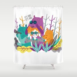 Spring is Coming! Shower Curtain