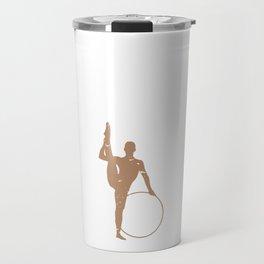 Gymnast Make this Look Easy Gymnastics Travel Mug