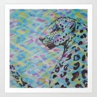 camo Art Prints featuring Camo by Caballos of Colour