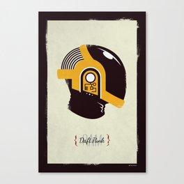 Daft Punk - RAM (Guy-Manuel) Canvas Print